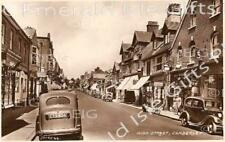 Surrey Camberley High St 1950's b/w Photo Print - Size Selectable