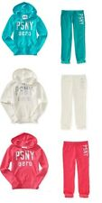 NWT AEROPOSTALE PS GIRLS PSNY POPOVER HOODIE FLEECE PANT OUTFIT 4 5 6 7 8 10