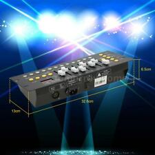 Mini 192 CH DMX512 Controller Console Stage Lighting Operator Equipment Hot U6V2