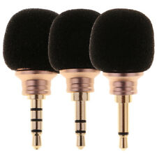 Mini 3.5mm Jack Voice Mic Microphone For Mobile Smart Phone Notebook New