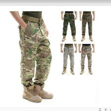 Hot Mens Military Army Camo Combat Cargo Trousers Tactical Overall Long Pants SZ