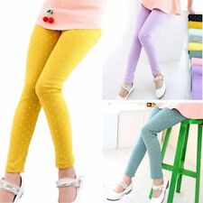 Lovely Toddler Kids Baby Girls Tight Pencil Pants Stretchy Leggings Trousers A85