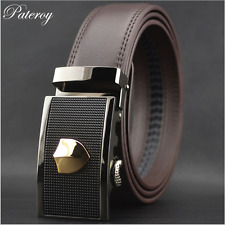 New Genuine Leather Men Belt S Buckle Waist Waistband Hot Sell Fashion Casual