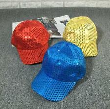 *2017 Unisex Accessories Hat Sport Casual Performance Sequined Disco Ball Cap