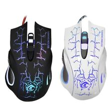 3200DPI LED Optical 6Buttons USB Wired Gaming Game Mouse Pro Gamer Computer