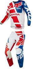 NEW 2018 FOX RACING 180 HONDA MOTOCROSS MX DIRT BIKE GEAR COMBO RED ALL SIZES