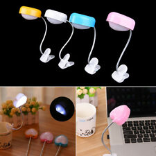 USB Led Reading Lamp With Clip Eye  Love Heart Table Light Desk Lamp Y4l