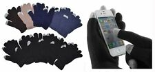 Men Lady Magic Knit Touchscreen iPhone Warm Gloves Wholesale 12 Pairs New York