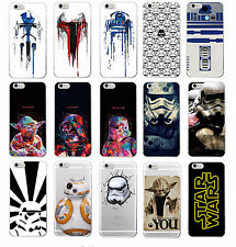 Star Wars Character Movie Storm Trooper Darth Vader Yoda Soft Phone Case iPhone
