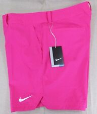 NIKE Golf Women's Dri-Fit Performance Athletic Shorts Pink Polka Dot 14, 16 NEW