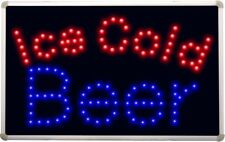 led152 Ice Cold Beer Bar LED Neon Light Sign