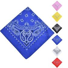 1pcs Women Men Square Scarf Paisley Neckerchief Shawl Wrap Bandana Scarves P2N5