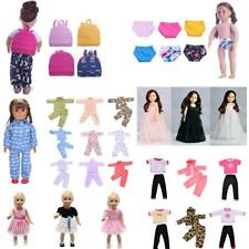 Clothes Pajama Sleepwear Bag Dress for 18 inch American Girl Our Generation Doll