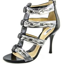Moschino Taglia Women  Open Toe Patent Leather  Sandals