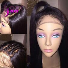 Silky Straight Lace Front Wigs For Black Women Pre Plucked Full Lace Hair Wigs