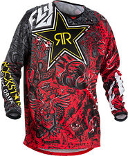 FLY RACING ROCKSTAR JERSEY RED/BLACK SMALL 371-661S
