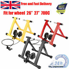 Upgrade Turbo Trainer Magnetic Indoor Bike Trainer for Road/Mountain Bicycle GA