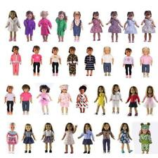 Stylish Doll Clothes FOR 18'' American Girl Handmade Princess Dress Outfit Pants