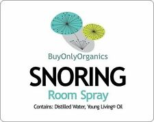 SNORING Remedy Young Living® Essential Oils -Room Spray or Massage Oil- Organic