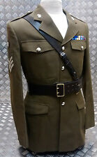 "Genuine British Army Issue Officers Sam Browne Belt Leather Size 52"" - NEW"