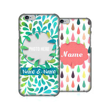 CUSTOM CUSTOMIZED PERSONALIZED DROPLET PATTERNS CASE FOR APPLE iPHONE PHONES