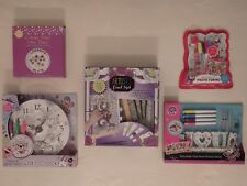 Colour Your Own Plate, Photo Frame, Canvases, Wall Clock or Stand (Choice of 5)