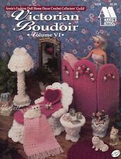 Victorian Boudoir, Annie's crochet patterns fit Barbie fashion dolls