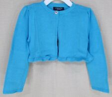 CHAPS By Ralph Lauren Baby Toddler Cropped Cardigan Sweater Blue 3T NEW