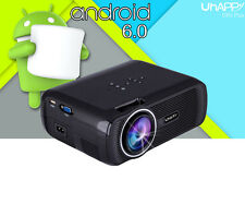 Mini Multimedia Wifi LED Projector HD 1080P USB HDMI AV TV VGA SD BT4.0 Lot CT