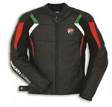 Ducati Corse C3 Leather Jacket Perforated Black/Red/White NEW