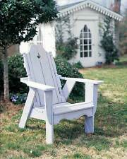 Nantucket Adirondack Pine Chair - Outdoor [ID 187075]