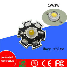100pcs 1W 3W High Power white warm white red green Blue  LED with 20mm star pcb