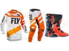 Fly Racing Orange F-16 Jersey Pant Boot Combo Set MX/ATV MX Riding Gear 2018