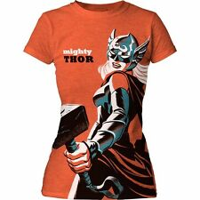 Thor - Mighty thor Girl Marvel Comics Officially Licensed Junior Shirt