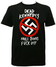 Authentic DEAD KENNEDYS Band Nazi Punks F Off Slim Fit T-SHIRT S-2XL NEW