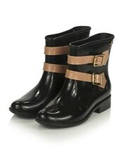 Womens Melissa Vivienne Westwood Black Pirate Ankle Boots Sz 8 New!