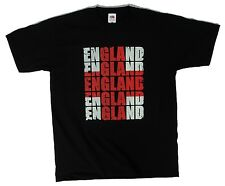 England flag St George cross, St George's Day mens black t shirt