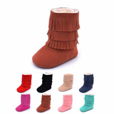 Baby Girl Boy Soft Sole Booties Snow Boots Infant Toddler Newborn Crib Shoes jjk
