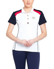 Equine Couture Carrington Polo Shirt with Moisture Wicking Fabric Nylon/Spandex