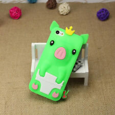 1Pcs Crown Pig Phone Bag Silicone Shell Phone Case 4.0 inch iPhone 5/5S/SE Cute