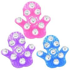 Glove Massager 9x 360° Rotating Roller Balls for Body Stress Tension Relief