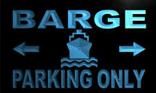 m167-b Barge Parking Only Neon Light Sign