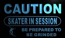 m620-b Caution Skater in session Neon Light Sign