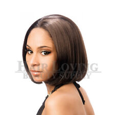 LFE-SHEER, Motown Tress Lace Front Wig Synthetic Short Straight Bob Style Wig