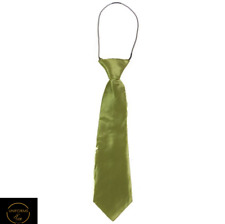 *Cheap* 1 X Lime Neck Tie Boys Kids Baby Toddler School Ties Formal Wedding