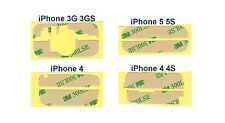 STICKERS SCREEN 3 M TOP + LOW iPhone 3G 3GS 4 4S 5 5S for glass LCD Scotch