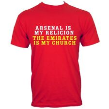 Arsenal Is My Religion Men's Red T-shirt