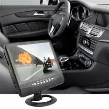 9.5 inch Car TFT LCD Portable Analog TV Stand Alone Monitor AV Input Port FM GA