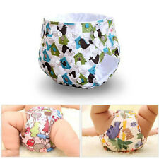 Hot 2Layer Baby Infant Cloth Diaper One Size Reusable Washable Pocket Nappy New