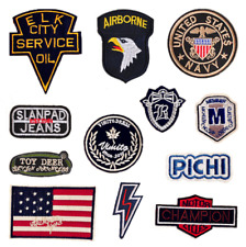 Music Band Sew Iron On Patch Badge DIY Embroidered Metal Rock Punk Retro Badge